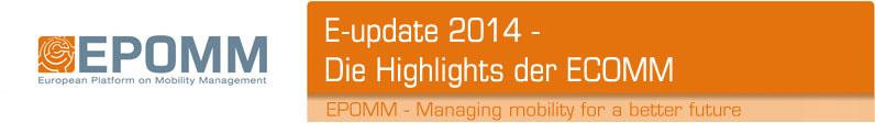 EPOMM e-update June 2014